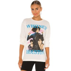 Daydreamer NWT Whitney Houston Long Sleeve Tee